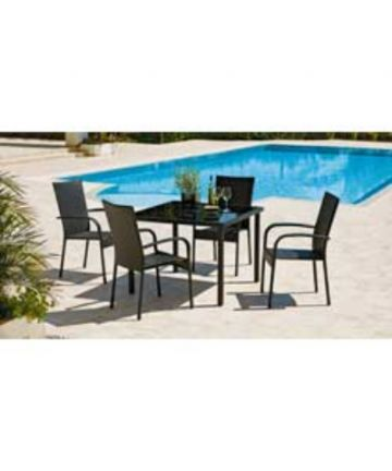4 Seat Rattan Furniture Dining Set.